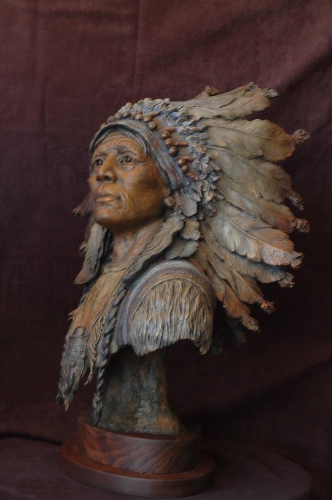 Sculpture-Native American