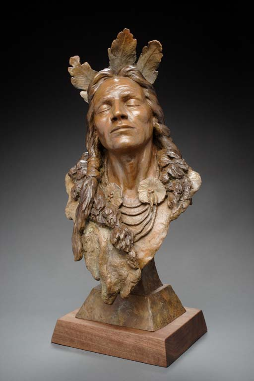 sculpture,native american,al hone